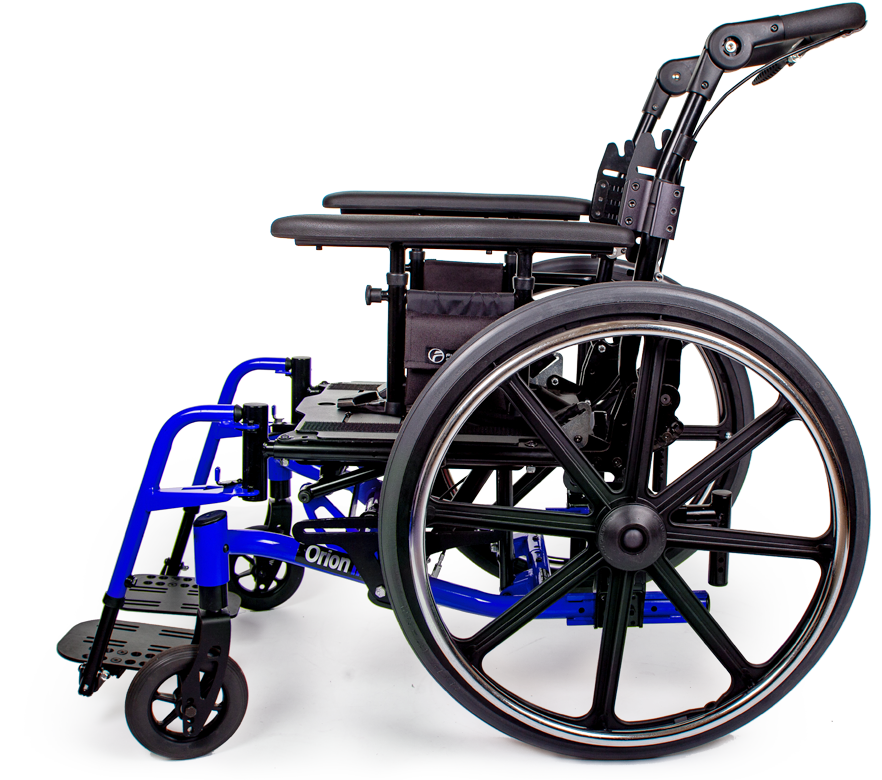 orion III wheelchair blue