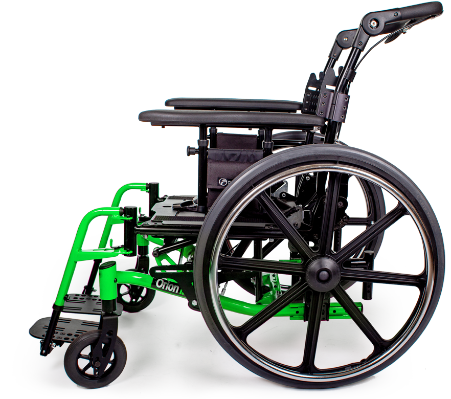orion III wheelchair green