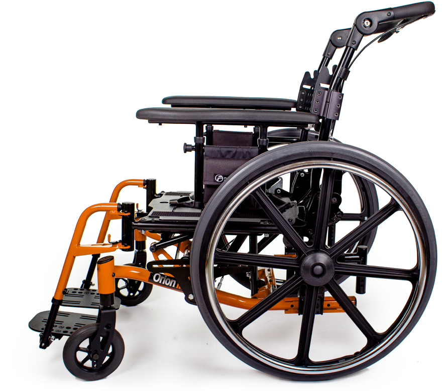 orion III wheelchair orange