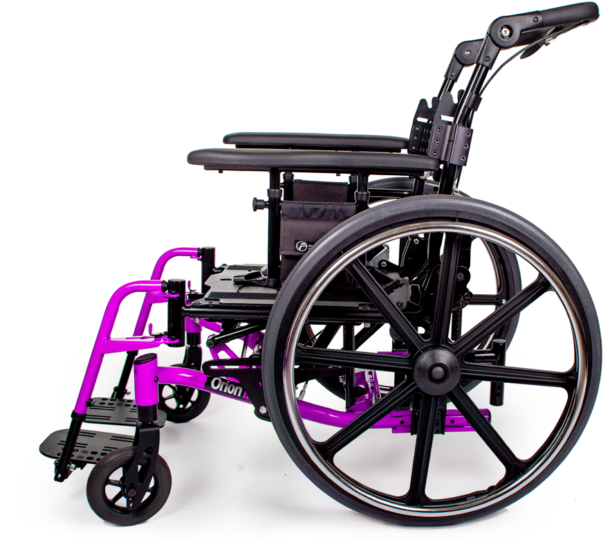 orion III wheelchair purple