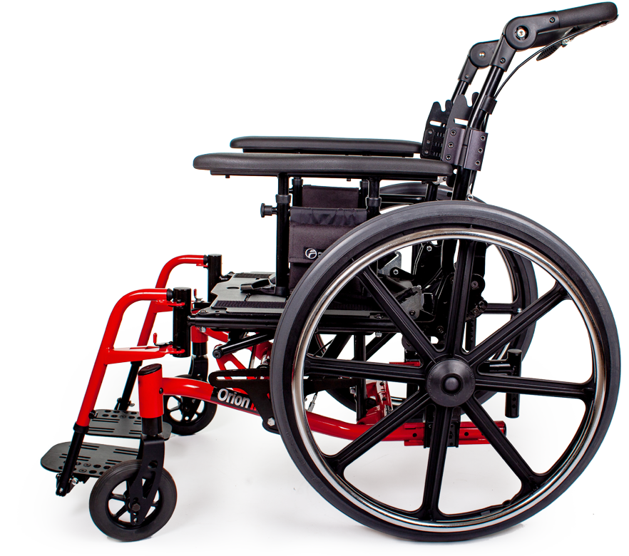 orion III wheelchair red