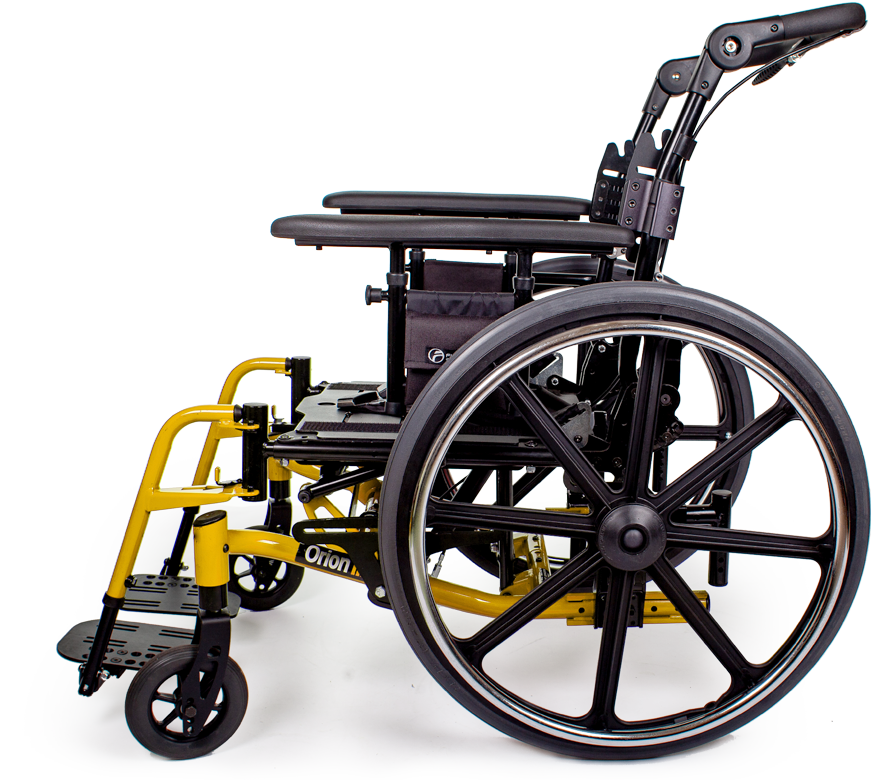 orion III wheelchair yellow