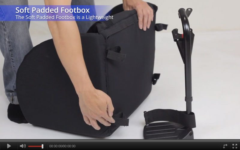 soft padded footbox