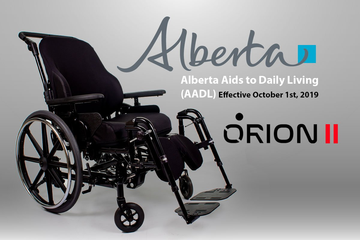 aadl wheelchair orion ii