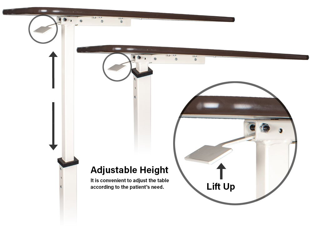 adjustable height lever