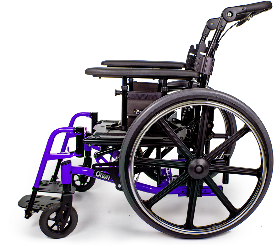 orion III wheelchair cobalt blue