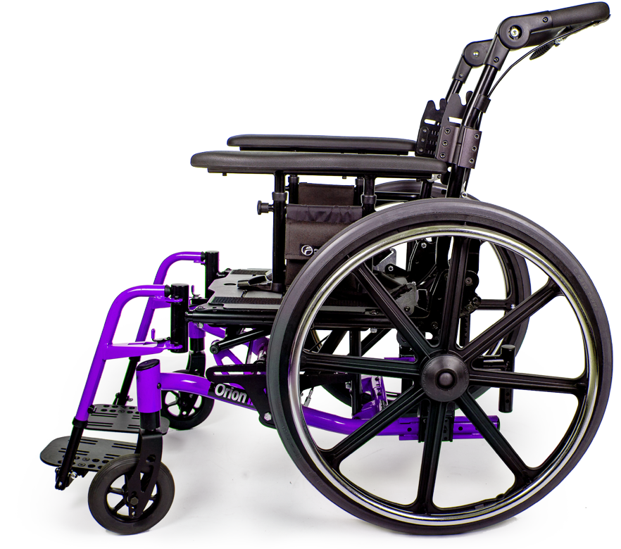 orion III wheelchair grape purple