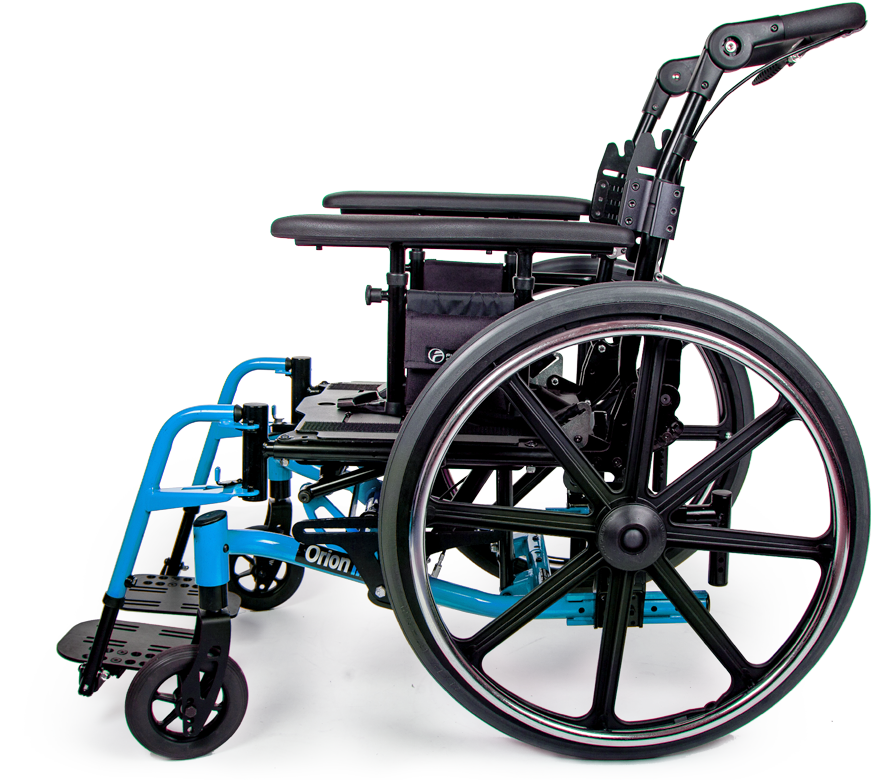 orion III wheelchair sky blue