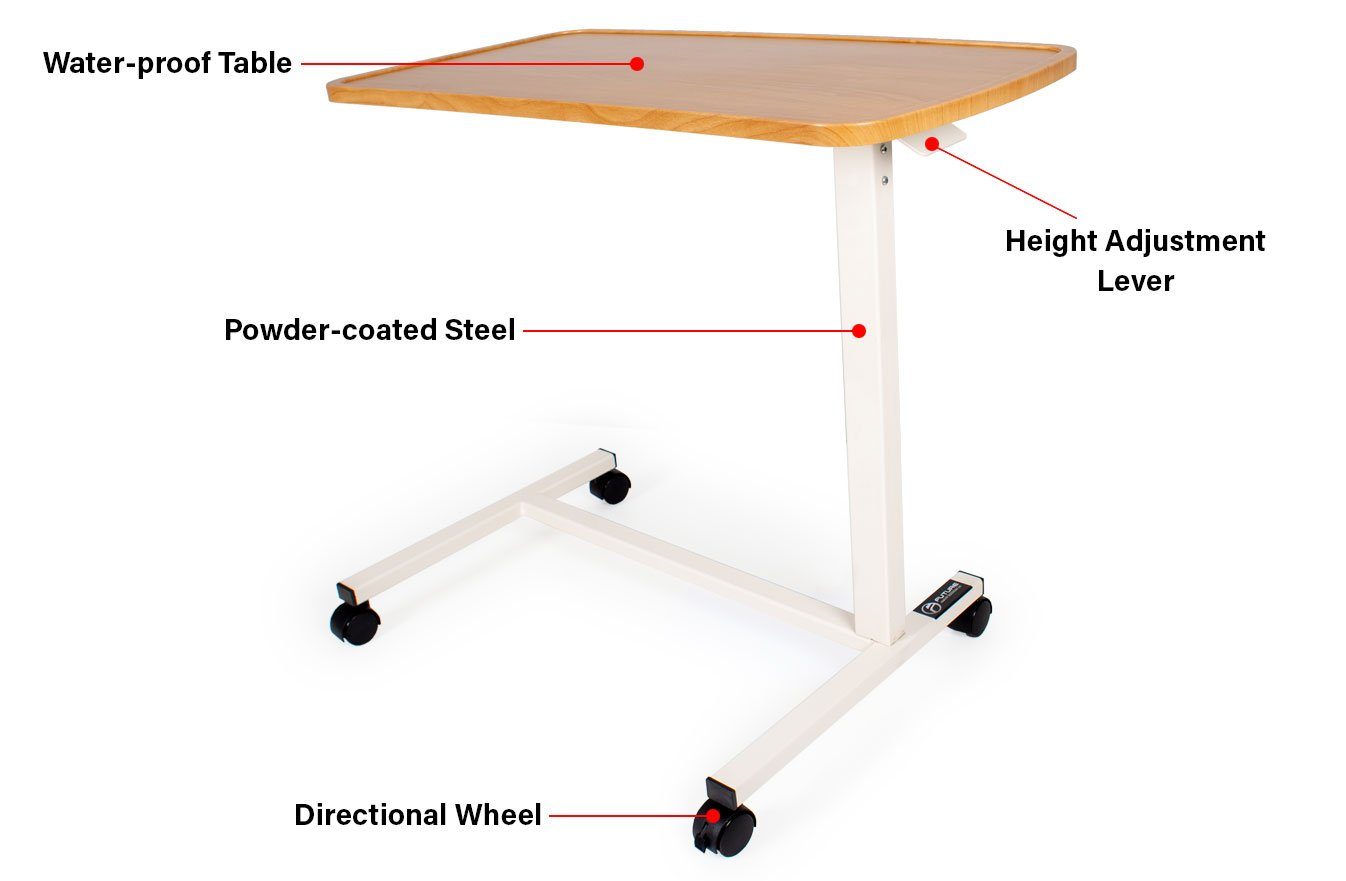 overview overbed table
