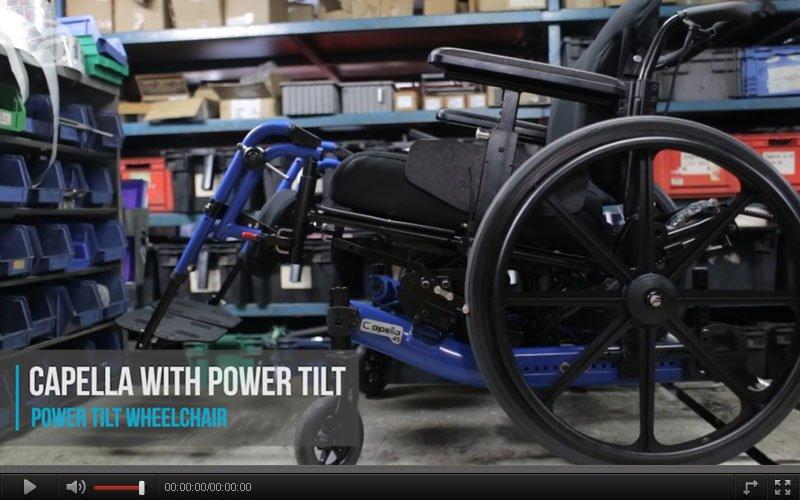 capella power tilt motor video